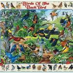 - WHITE MOUNTAIN BIRDS OF BACKYARD PUZZLE 1000PC