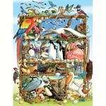 - COBBLE HILL BIRDS OF THE WORLD FAMILY PUZZLE 400PC
