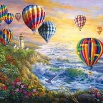 - SUNSOUT SUMMER GLOW PUZZLE 1000 PC. DISCONTINUED
