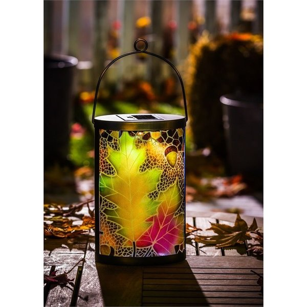 - EVERGREEN LEAVES SOLAR LANTERN
