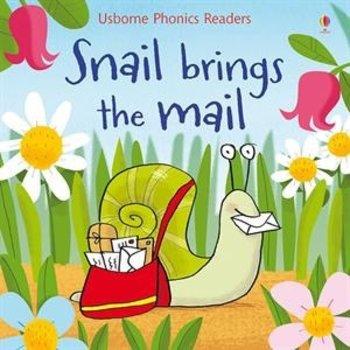 - USBORNE BOOKS SNAIL BRINGS THE MAIL