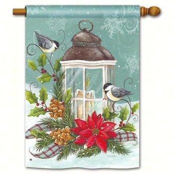 - MAGNET WORKS CHRISTMAS LANTERN ESTATE FLAG