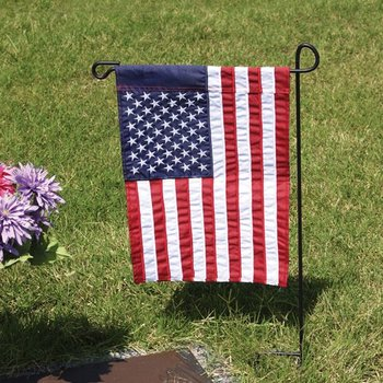 """- EVERGREEN 28"""" GARDEN FLAG POLE (STAND ONLY)"""