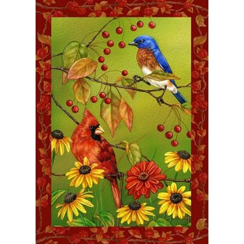 - TOLAND BIRDS N' BERRIES ESTATE FLAG