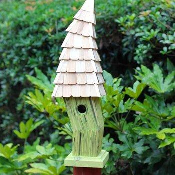 - HEARTWOOD BIRDIWAMPUS BIRD HOUSE CITRUS