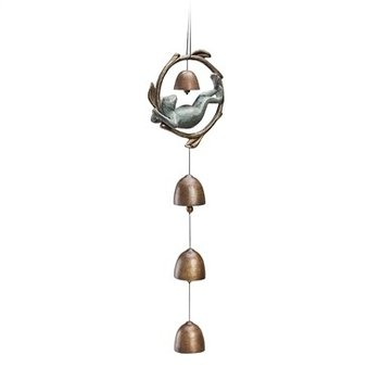- SPI NAPPING FROG WIND BELL CHIME