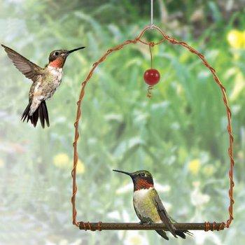 - SONGBIRD ESSENTIALS COPPER HUMMINGBIRD SWING
