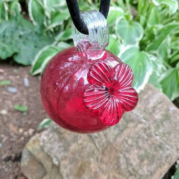 - PARASOL DROPLETS 4 OZ. HUMMINGBIRD FEEDER RED
