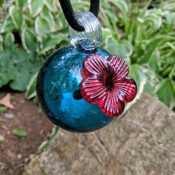 - PARASOL DROPLETS 4 OZ. HUMMINGBIRD FEEDER AQUA