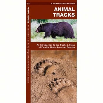 - POCKET NATURALIST: ANIMAL TRACKS FOLDING GUIDE