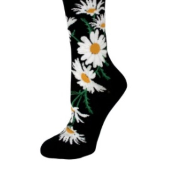 - MODSOCK CRAZY FOR DAISIES CREW SOCKS