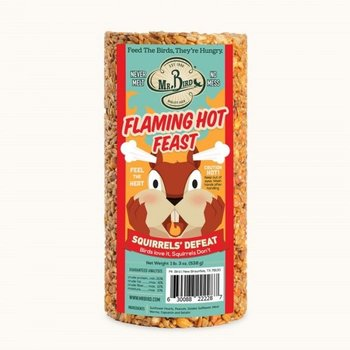 - MR BIRD FLAMING HOT FEAST 28 OZ.