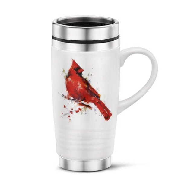 - DEMDACO CARDINAL TRAVEL MUG 14OZ