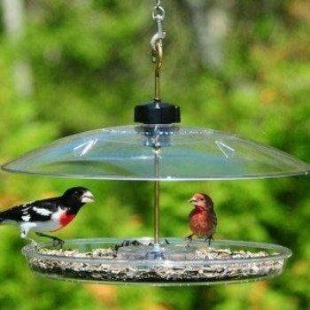 """- DROLL YANKEE COVERED PLAT FORM FEEDER 13"""""""