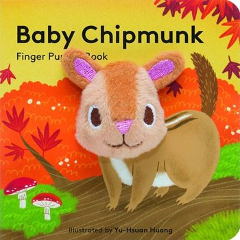 - CHRONICLE BOOKS: BABY CHIPMUNK FINGER PUPPET BOOK