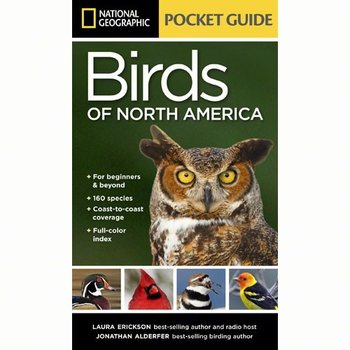 - NATIONAL NATIONAL GEOGRAPHIC POCKET GUIDE TO THE BIRDS OF NORTH AMERICA
