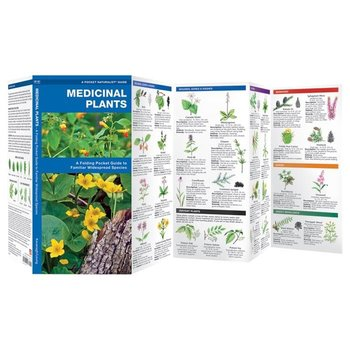 - POCKET NATURALISTS MEDICINAL PLANTS FOLDING GUIDE