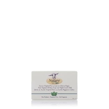 -NATURE BY CANUS GOAT SOAP 5OZ BARS UNSCENTED 10024