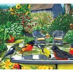- COBBLE HILL BIRD BATH PUZZLE 500PC