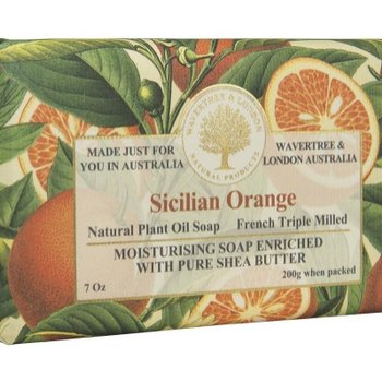 -AUSTRALIAN NATURAL SOAP SICILIAN ORANGE 7 OZ