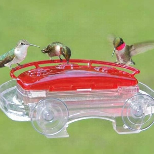 - ASPECTS HUMMINGBIRD JEWELBOX WINDOW FEEDER
