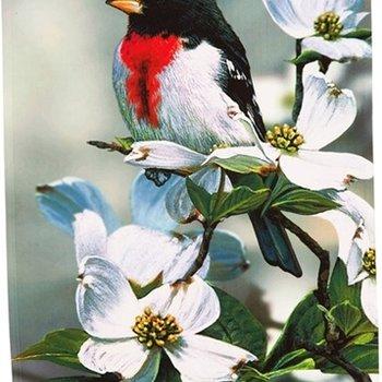 - EVERGREEN AUTUMN BIRD SONG ESTATE FLAG