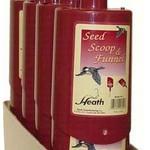 - HEATH BIRD FEED SEED SCOOP RED