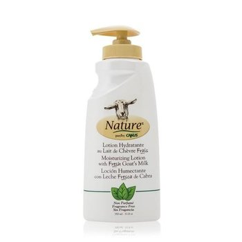 - NATURE BY CANUS GOAT'S MILK LOTION UNSCENTED 11.8 oz