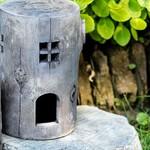 - ABBOTT LARGE STUMP FAIRY TOAD HOUSE