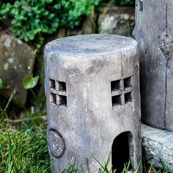 - ABBOTT SMALL STUMP FAIRY TOAD HOUSE