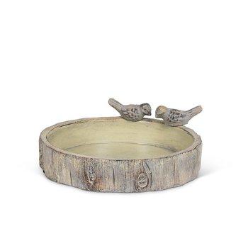 - ABBOTT SMALL ROUND STUMP BIRD BATH