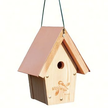 - WOODLINK COPPER TOP CHICKADEE/WREN HOUSE