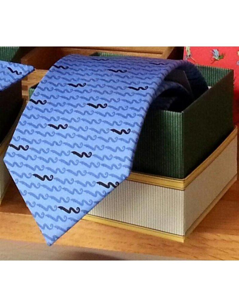 BLACK EEL Necktie