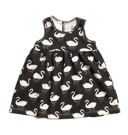 Winter Water Factory Oslo Baby Dress with Swans