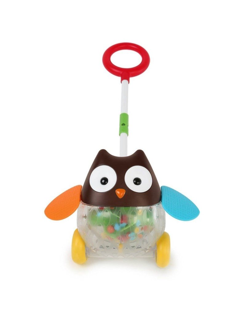 Skip*Hop Explore & More Rolling Owl Push Toy