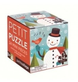 Petit Collage Holiday 24 Piece Petit Puzzle