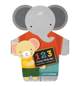 Petit Collage 1-2-3 Count with Me Board Book