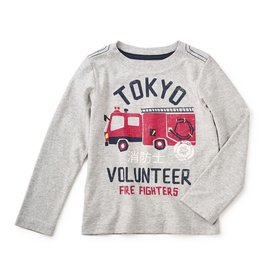 Tea Collection SALE! Bebi Tokyo Fire Graphic Tee