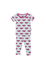 KicKee Pants Bamboo Blend Watermelon Pajama Set