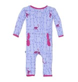 KicKee Pants Bamboo Blend Forest Monkey Coverall