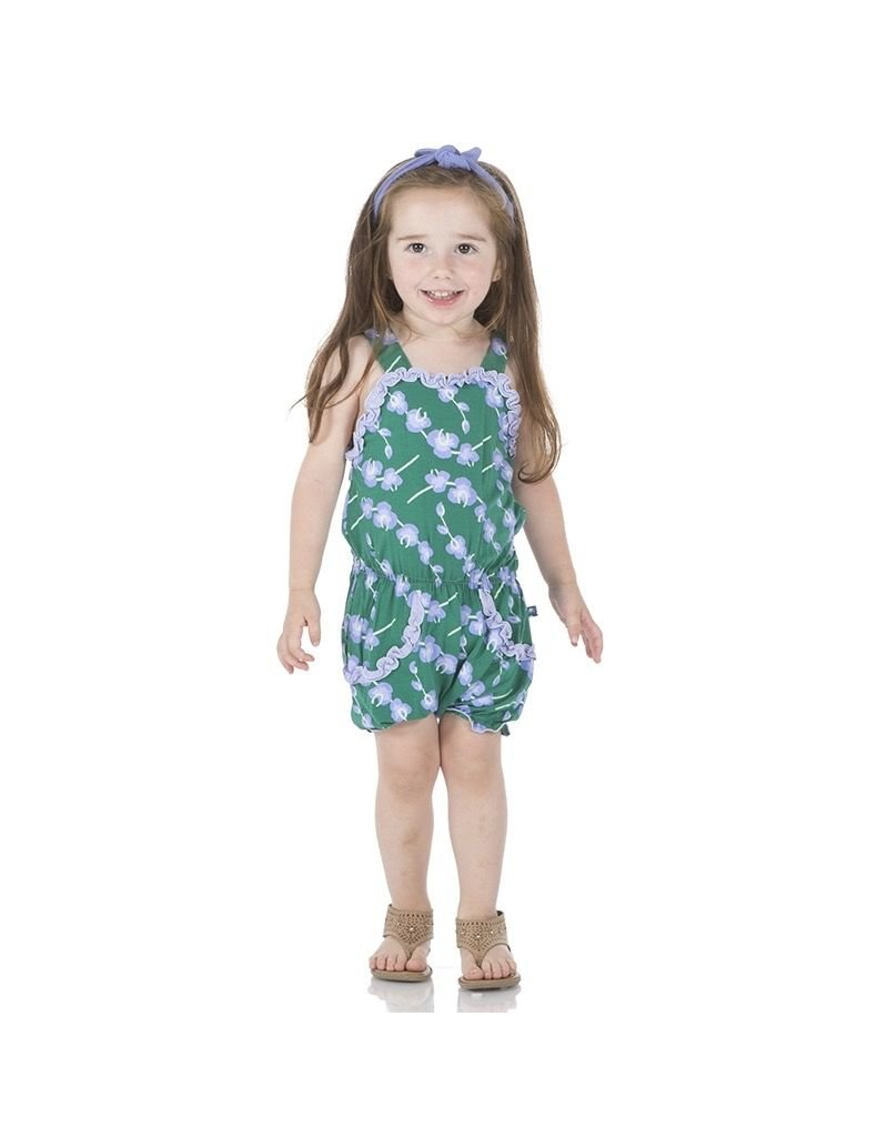 KicKee Pants Bamboo Blend Orchid Ruffle Romper