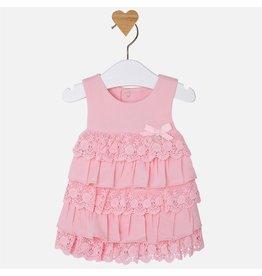 Mayoral SALE!!! Layered Lace and Ruffle Dress