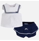 Mayoral Sailor Dress & Short Set