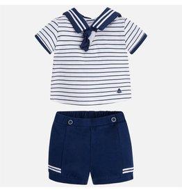 Mayoral Sailor Short Set
