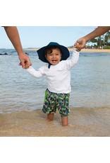 I Play Boardshort Swim Diaper