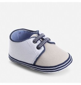 Mayoral Canvas Baby Shoes with Elastic Laces