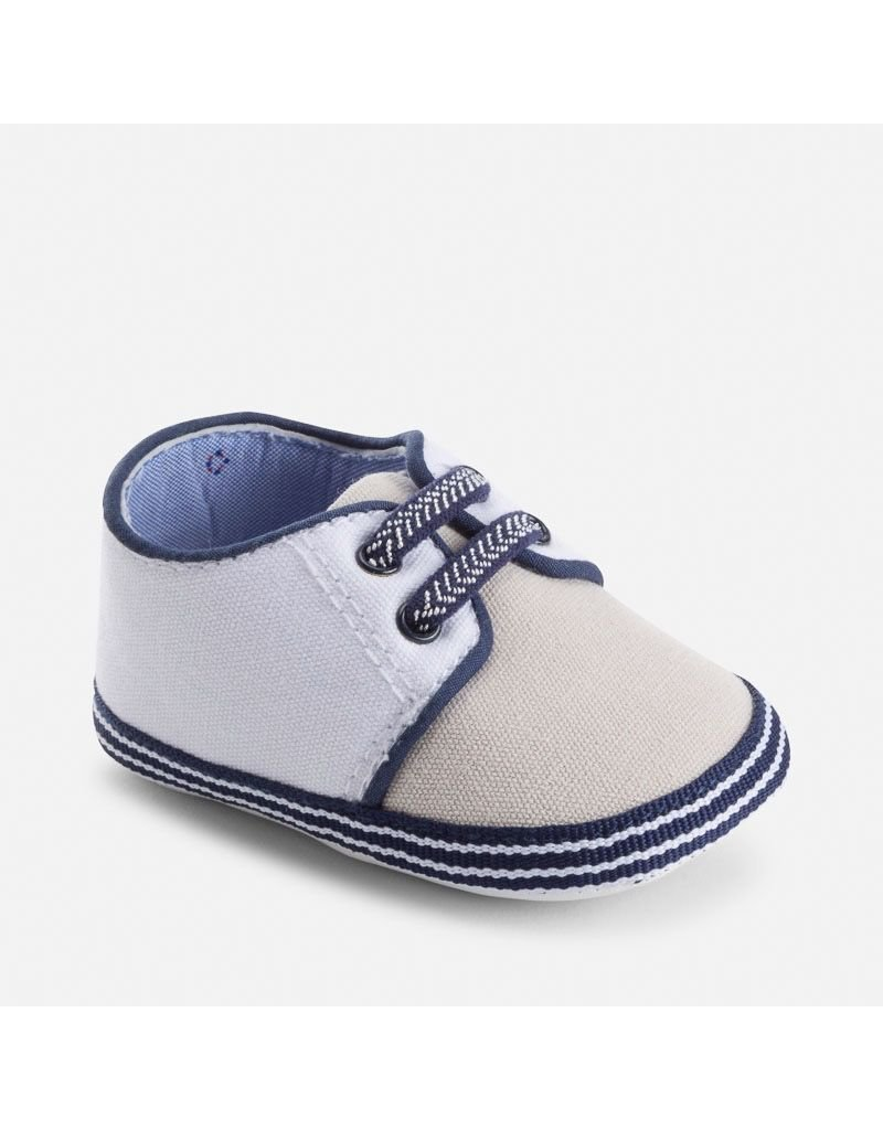 Mayoral SALE!!! Canvas Baby Shoes with Elastic Laces