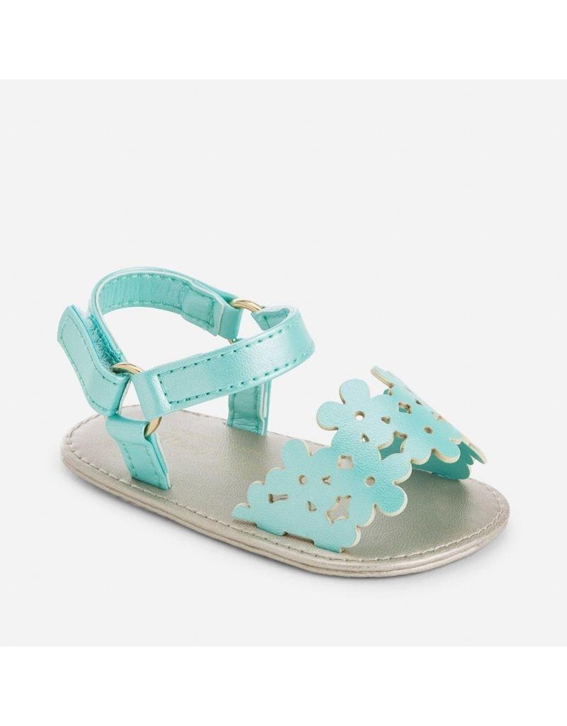 Mayoral SALE! Die-cut Floral Baby Sandals