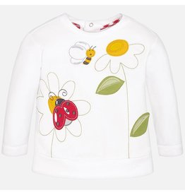 Mayoral Embroidered Sweatshirt
