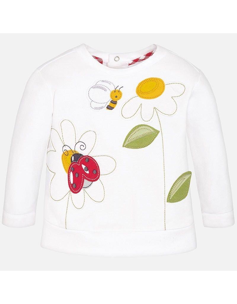 Mayoral Embroidered Sweatshirt
